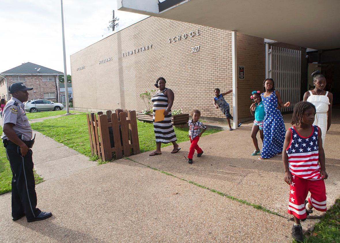 a charter public school in New Orleans, Louisiana.