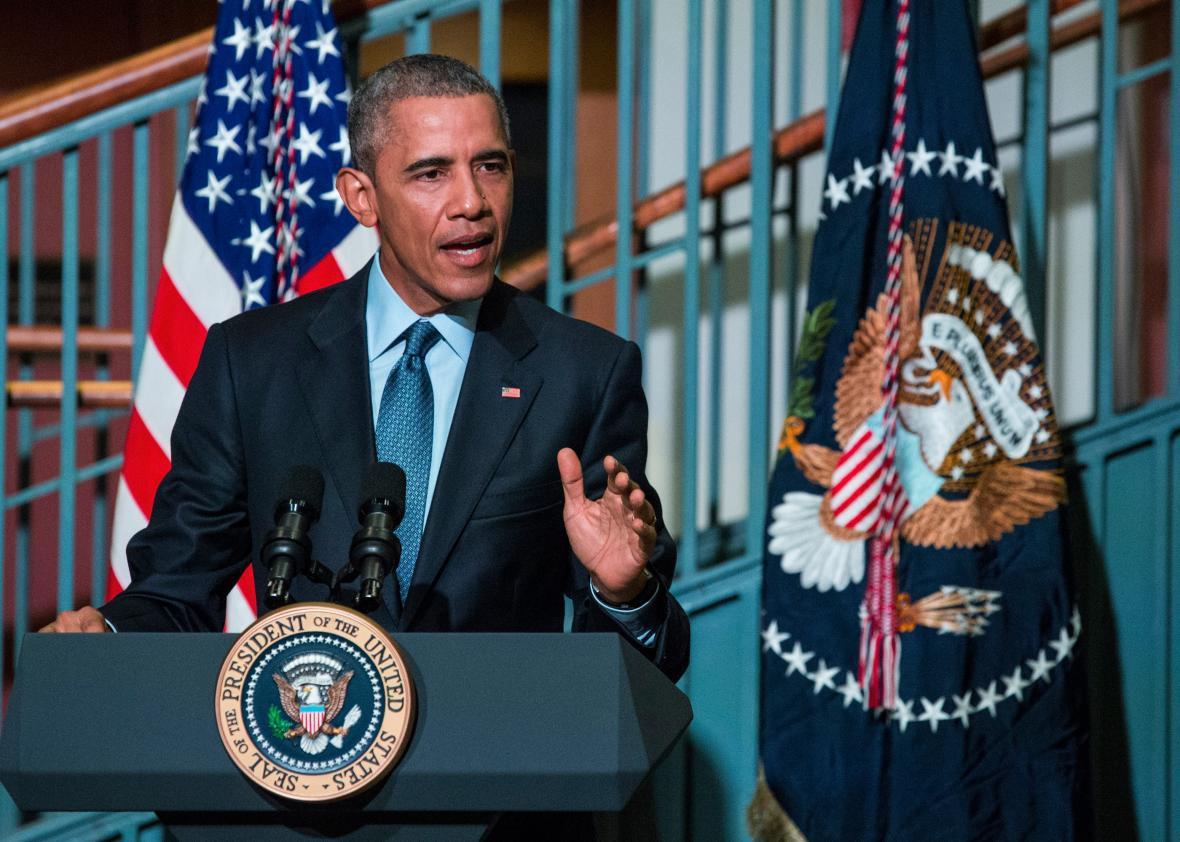 Barack Obama takes executive action to \