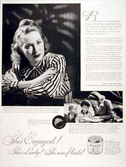 Pond's Cold Cream Ad (1944).