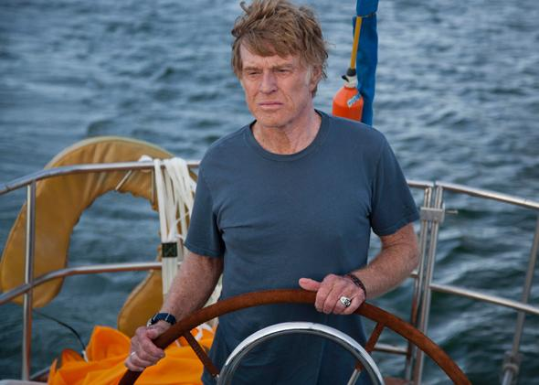 All Is Lost, starring Robert Redford
