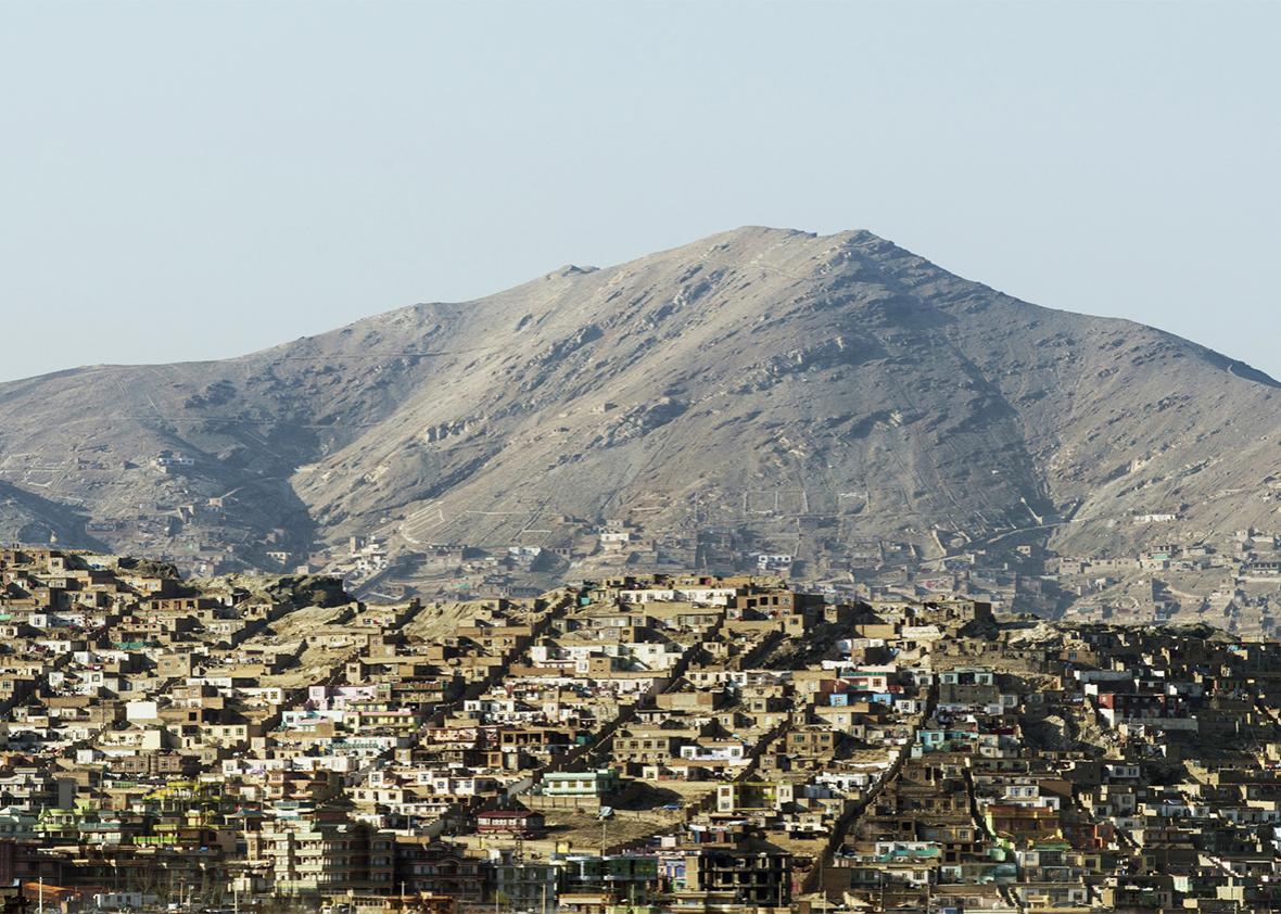 Kabul city view, Afghanistan.
