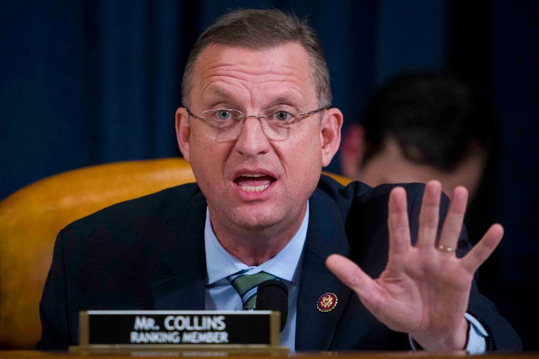 Georgia Rep. Doug Collins, ranking member of the House Judiciary Committee, on Monday in Washington.