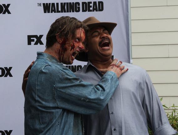 Neil Tyson and a zombie.