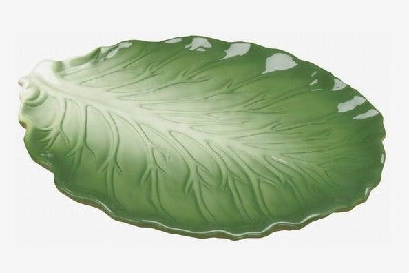 Summit Collection Iceburg Lettuce Ceramic Dish Plate