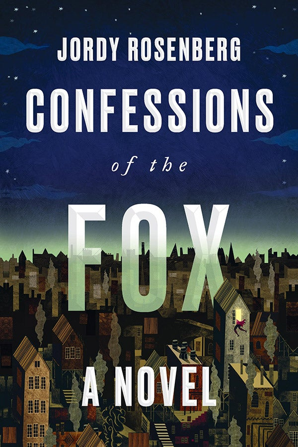 The cover of Confessions of the Fox.