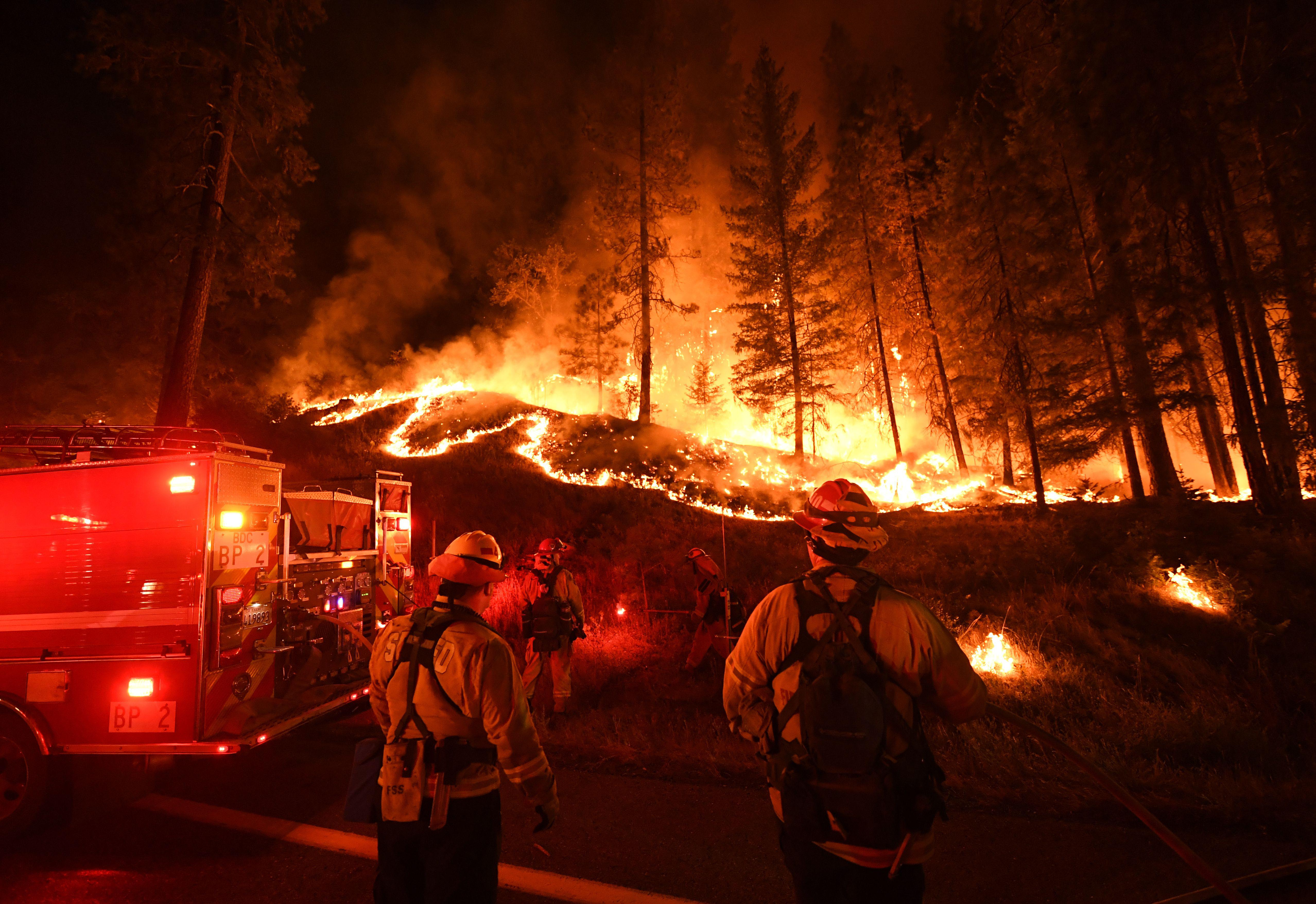 Authorities fear that high-speed winds will push the Carr fire to more populated areas.