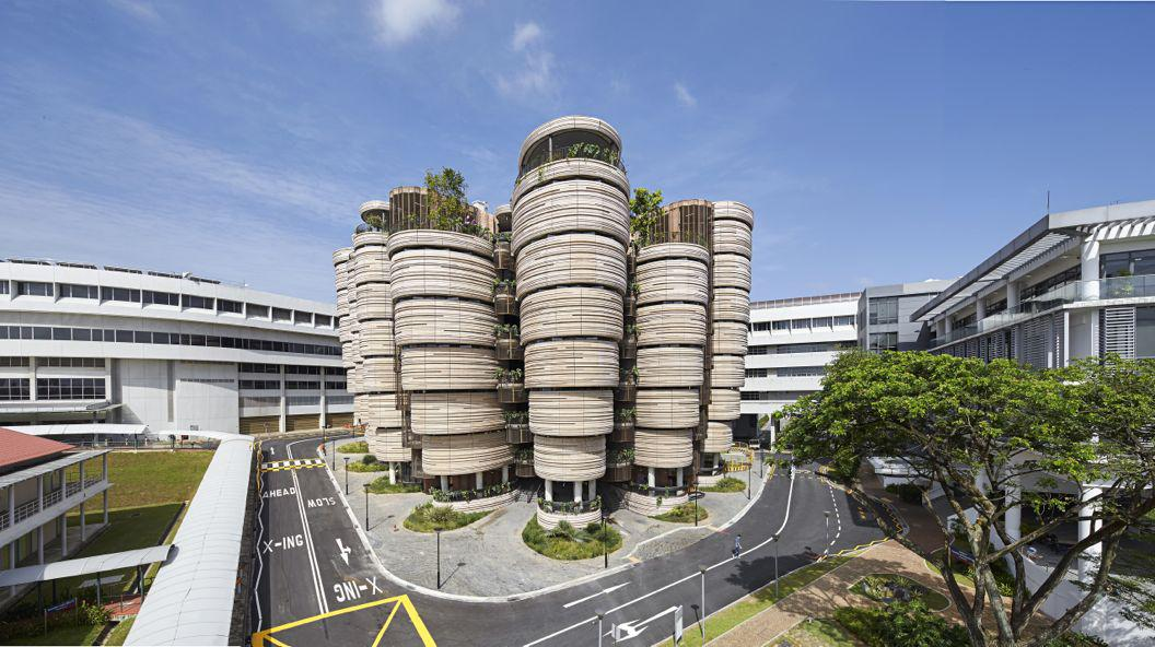 Thomas Heatherwick's Learning Hub at Nanyang Technological University in Singapore is designed for 21st-century learning.