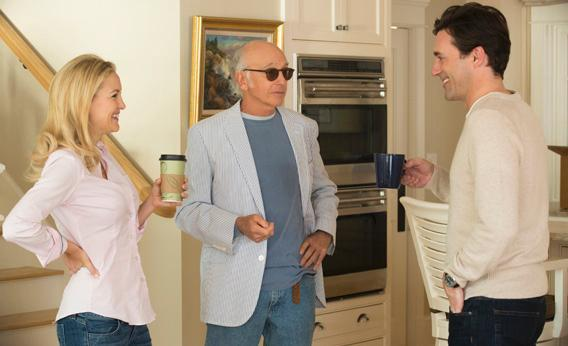 CLEAR HISTORY: Kate Hudson, Larry David, Jon Hamm. photo: John P. Johnson