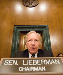 Senator Joe Lieberman. Click image to expand.