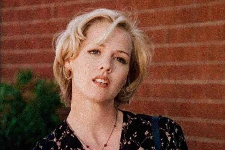 Jennie Garth as Kelly Taylor in Beverly Hills, 90210.