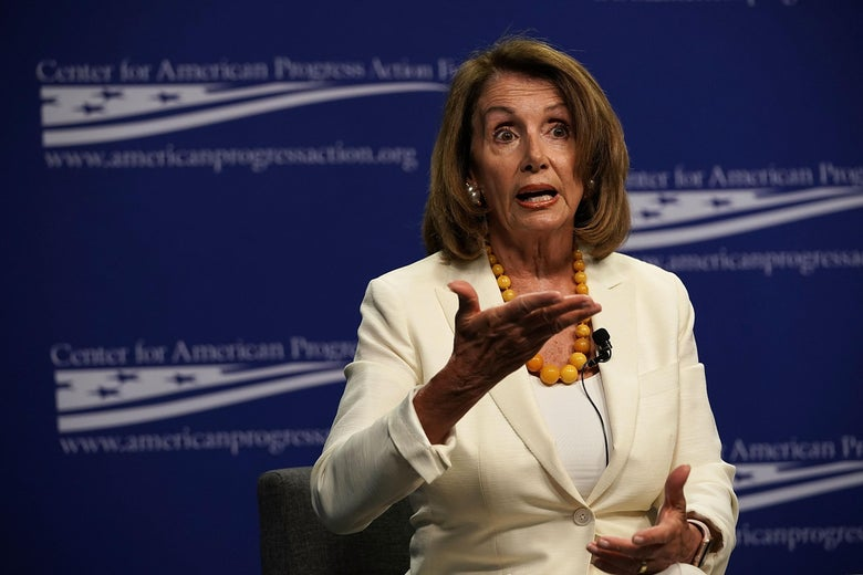 House Democratic Leader Nancy Pelosi.