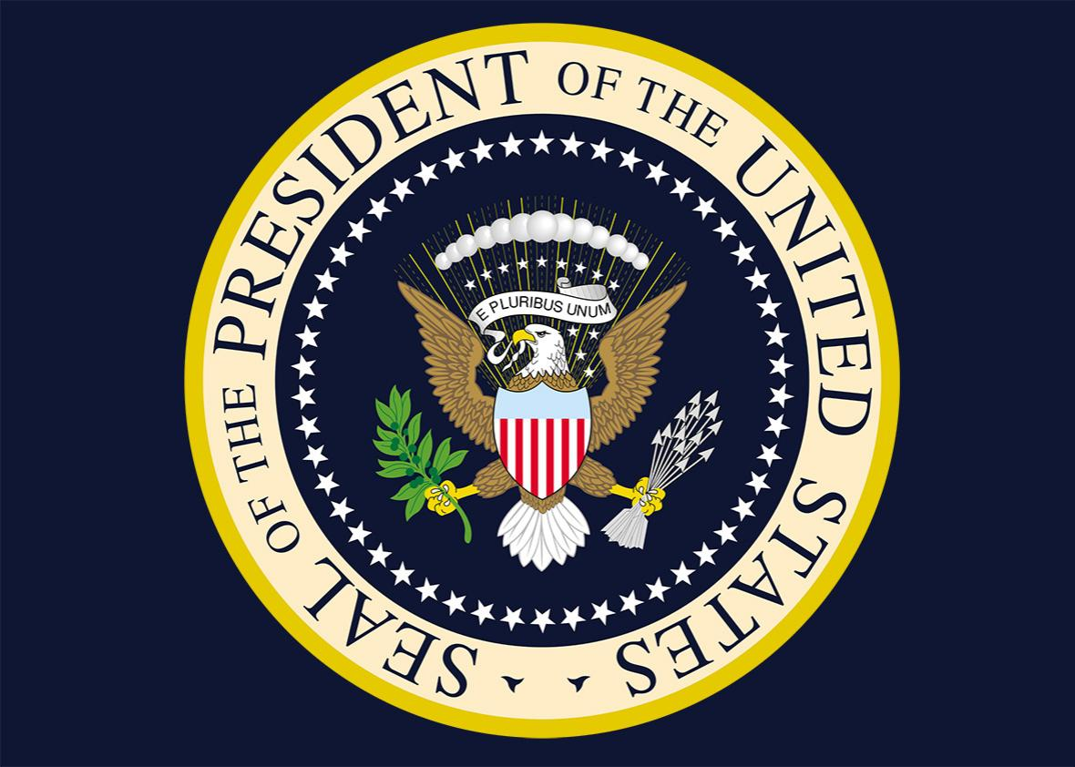 presidential seal.