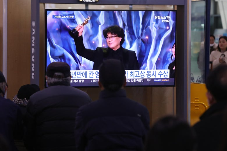 How the Korean Media Is Covering Parasite's Best Picture Win