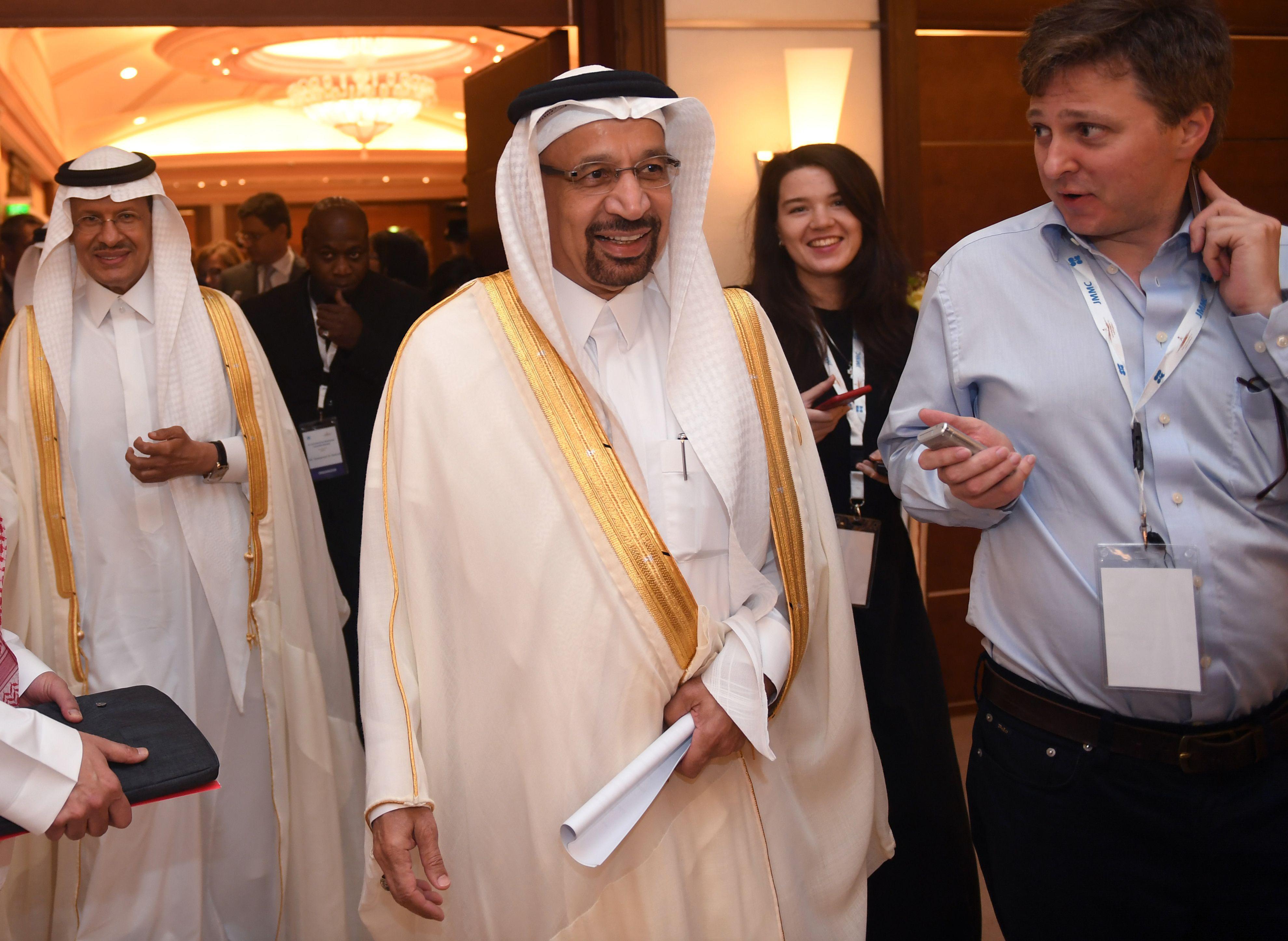 Saudi Energy Minister Khaled al-Faleh.
