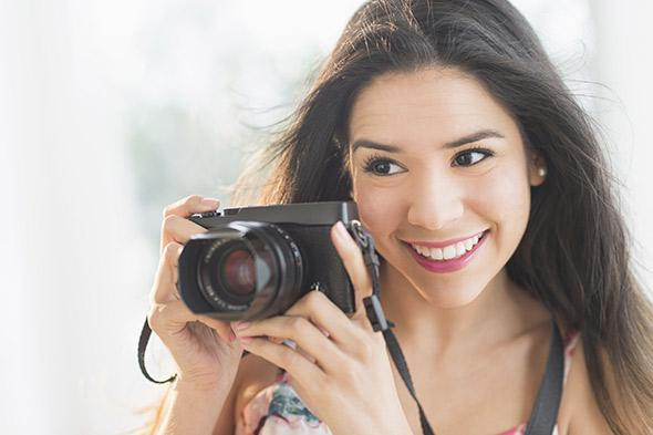 This microstock model feels optimistic about the future of professional photography!