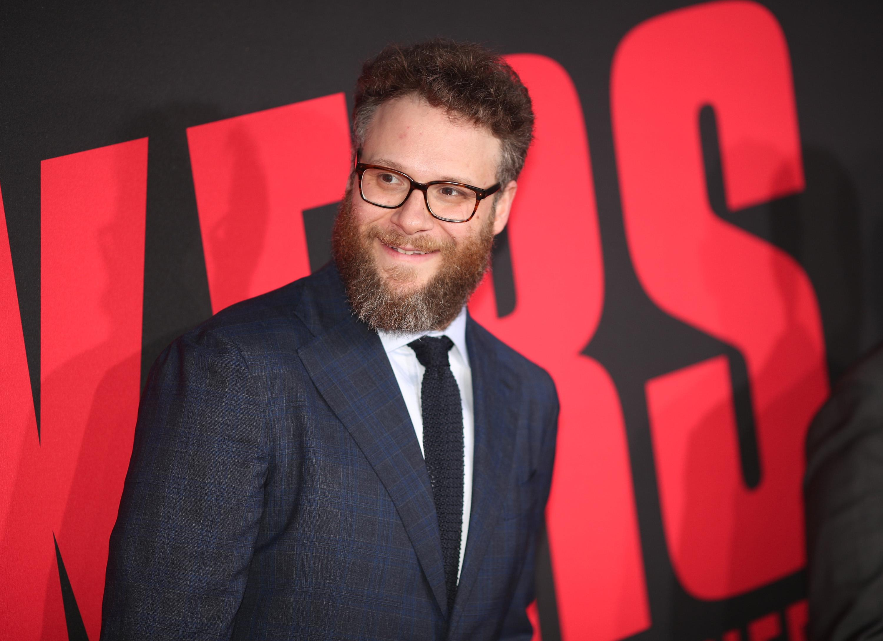 Seth Rogen attends the premiere of Universal Pictures' 'Blockers.'