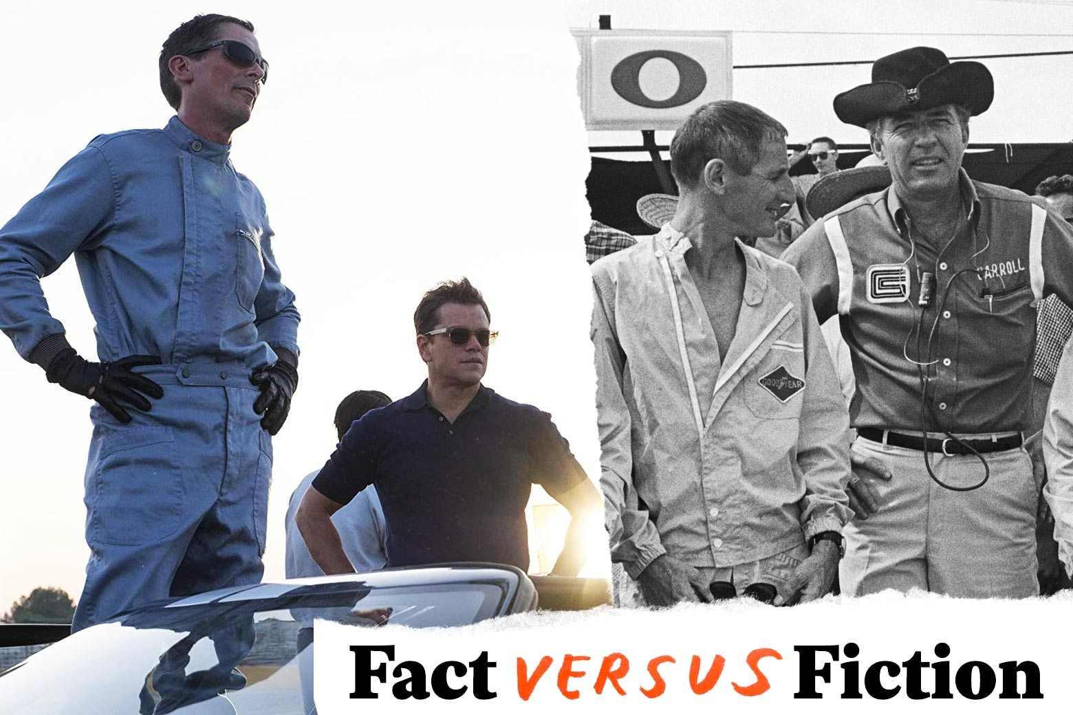 Ford v. Ferrari historical accuracy Fact vs. fiction in the