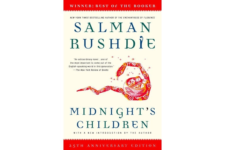 Midnight's Children by Salman Rushdie.