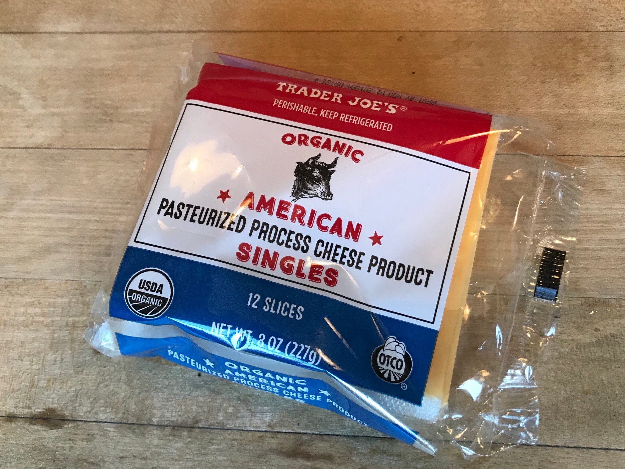 American pasteurized process cheese product.