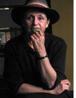 Silvia Rivera, Morales' coca adviser, chewing coca leaf Click image to expand.