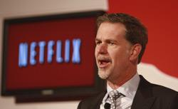 Reed Hastings, CEO of Netflix. Click image to expand.
