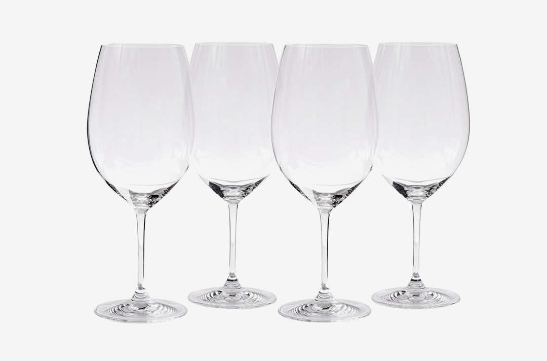 Riedel Cabernet glasses.