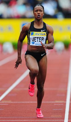 Carmelita Jeter. Click image to expand.