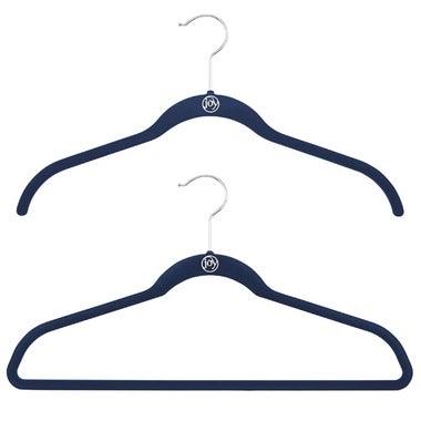 Joy Mangano Navy Huggable Hangers