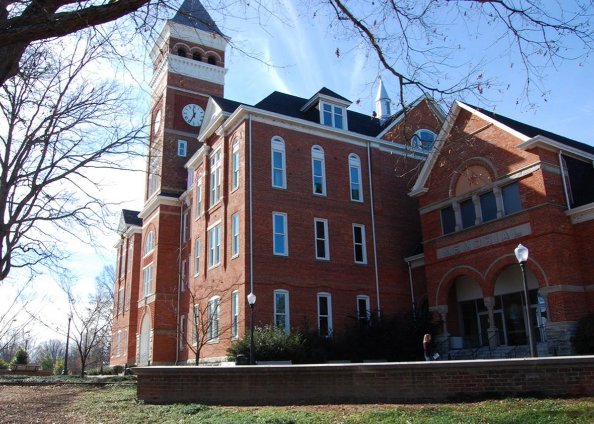 Tilman Hall at Clemson University.