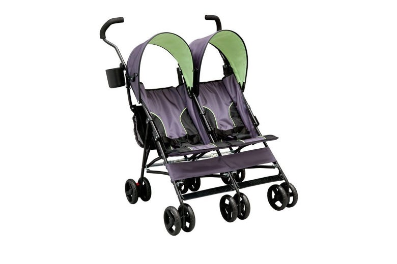 The double stroller.