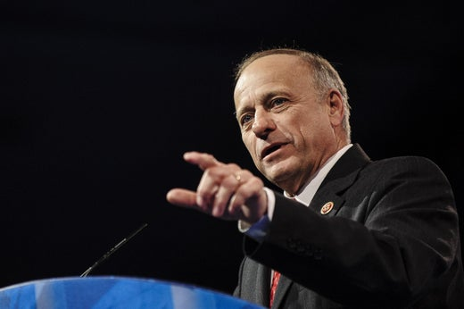 """Raul Labrador: """"Shame on the media"""" for reminding people that Steve King exists."""