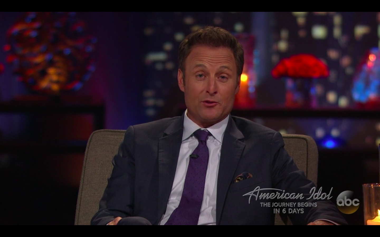 Chris Harrison on The Bachelor.