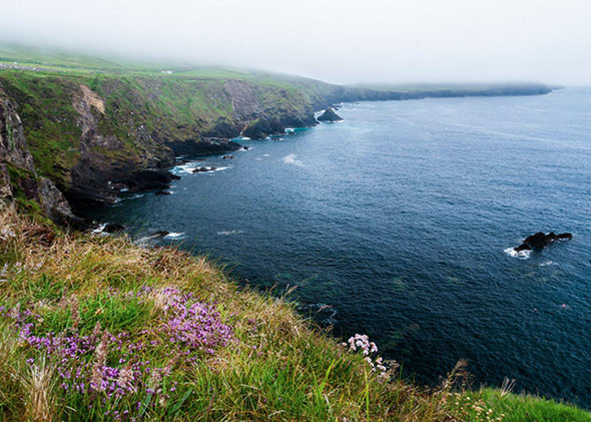 Slea Head in the Dingle Peninsula in southern Ireland.