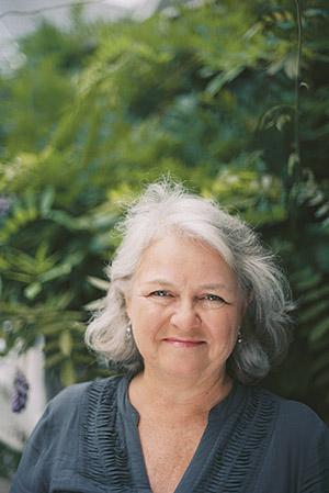 Author Mary Norris.