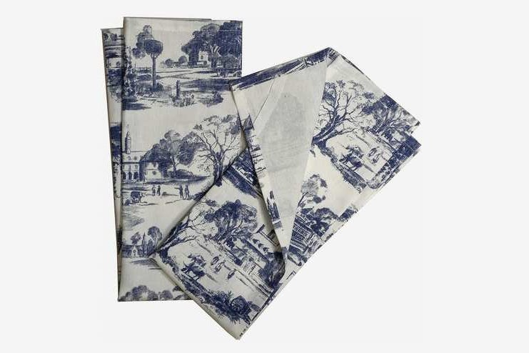 Toile French Country Dish Towel