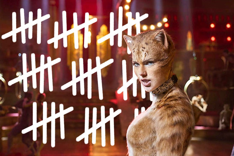 Cats Movies How Many Times Does The Musical Adaptation Use The Word Cats