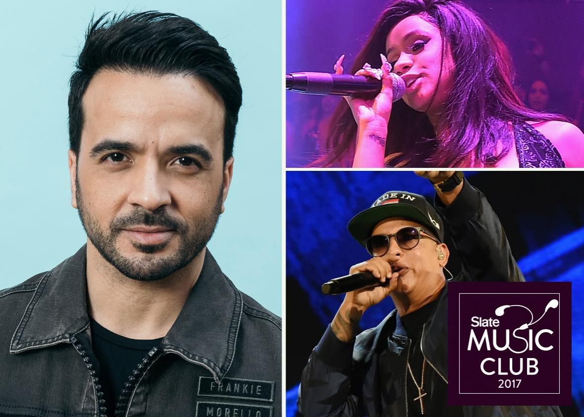 Luis Fonsi, Cardi B, and Daddy Yankee