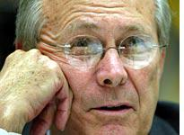Rumsfeld: Not going anywhere