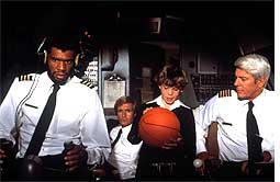 Historic irony: Kareem Abdul-Jabbar in Airplane!