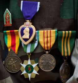 Valor medals.