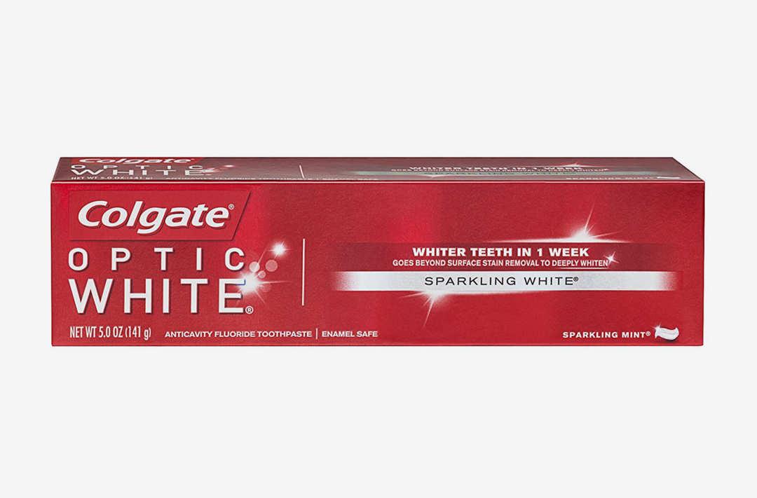 Colgate Optic White Toothpaste.