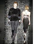 A jacket with mink sequins from Proenza Schouler