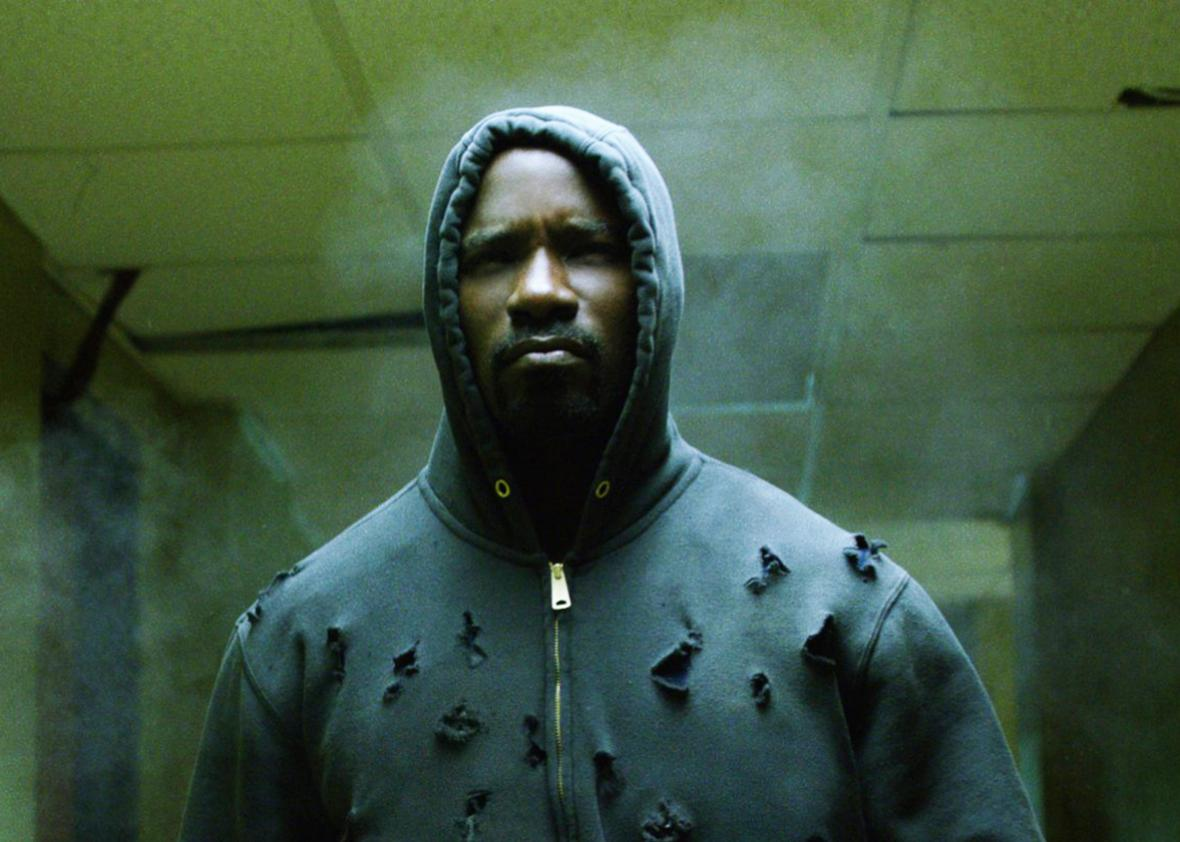 Mike Colter in Luke Cage.