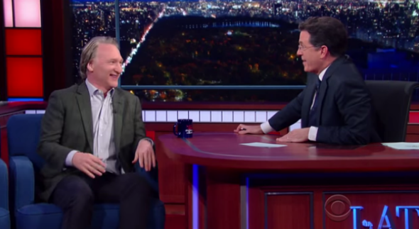 Stephen Colbert and Bill Maher's chat about religion was surprisingly frank.