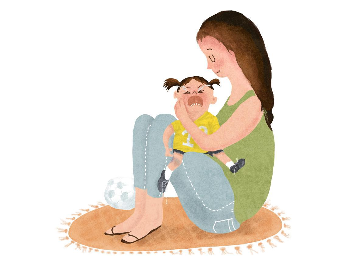Five Things To Do When Your Child Wails >> When To Give Crying Kids Comfort And When To Tell Them To Buck Up