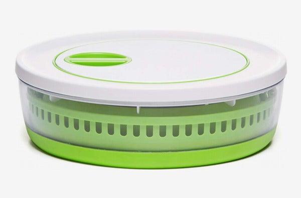 Prepworks by Progressive Collapsible Salad Spinner – 4 Quart.