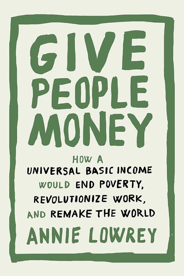 Give People Money book cover.