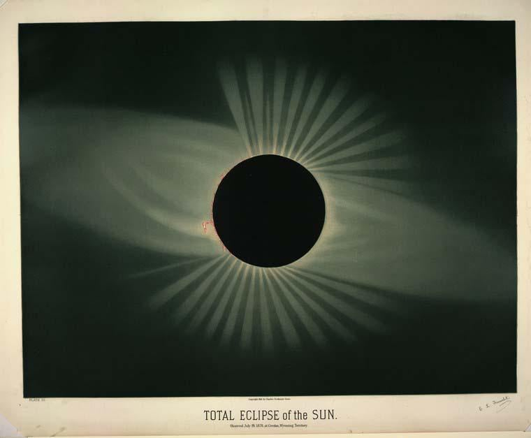 History of astronomical art: Etienne Leopold Trouvelot's drawings of celestial objects.