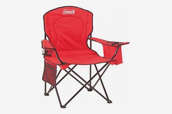 Coleman Portable Camping Chair With Four-Can Cooler