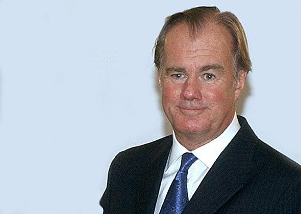 Stefan Persson, Chairman of Hennes and Mauritz fashion chain after he received the 'Queen Cristina of Sweden Award' at the Swedish embassy in Madrid, 14 November 2003.